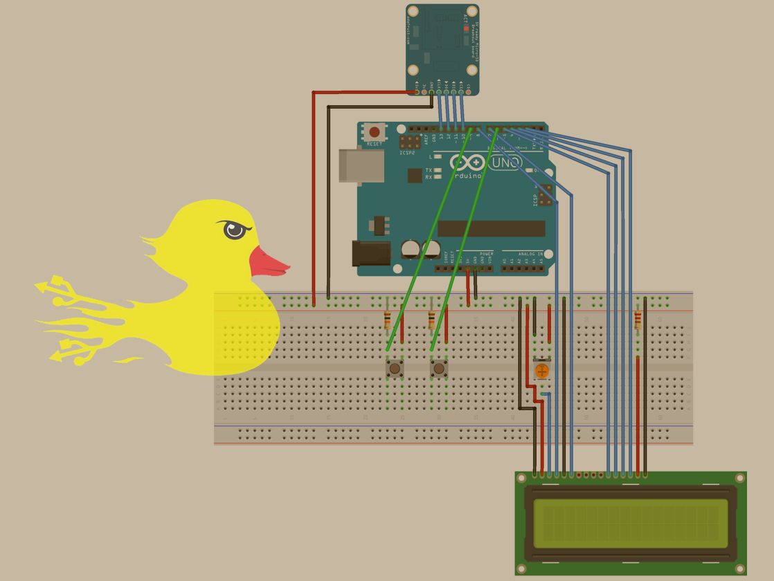 UnoDucky: a USB Rubber Ducky imitation using an Arduino Uno
